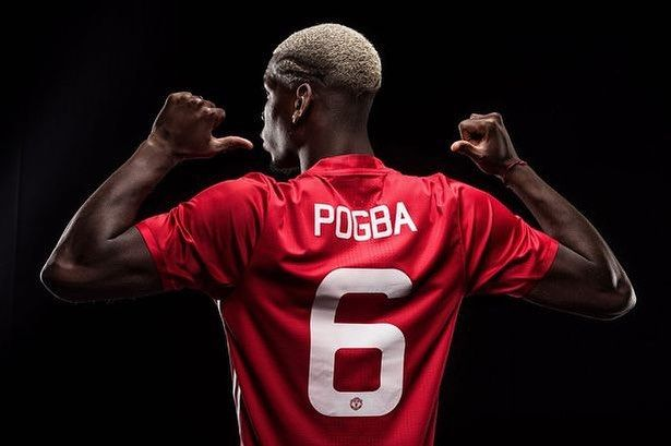 Manchester United, Paul Pogba, Official