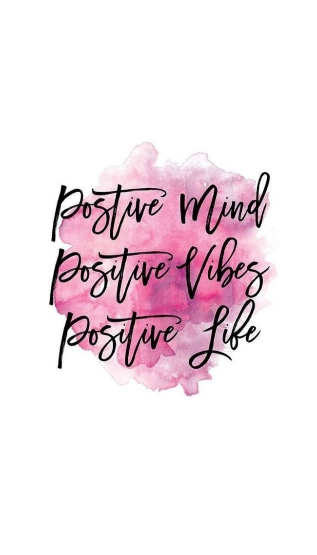 Seja positivo