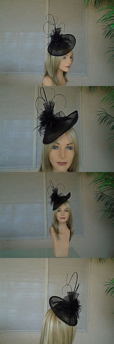 Womens Formal Hats 131476  Black Kentucky Derby Hat Church Hat Wedding Hat  -  BUY IT NOW ONLY   34.99 on eBay! 37043c44f85d