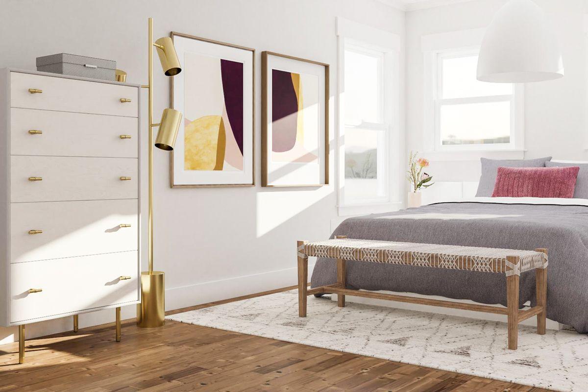 2 Great Rectangular Bedroom Layout Ideas   Modsy Blog ...