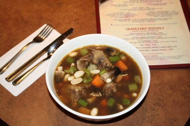 Oxtail Soup Available After 11 P M California Hotel Las Vegas Nv Oxtail Soup Oxtail Food
