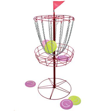 The PDGA Approved Disc Golf   Hammacher Schlemmer. Disc Golf SetBackyard  GamesLawn ...