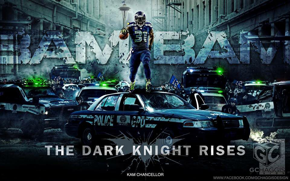 Kam Chancellor the Dark Knight Seattle seahawks