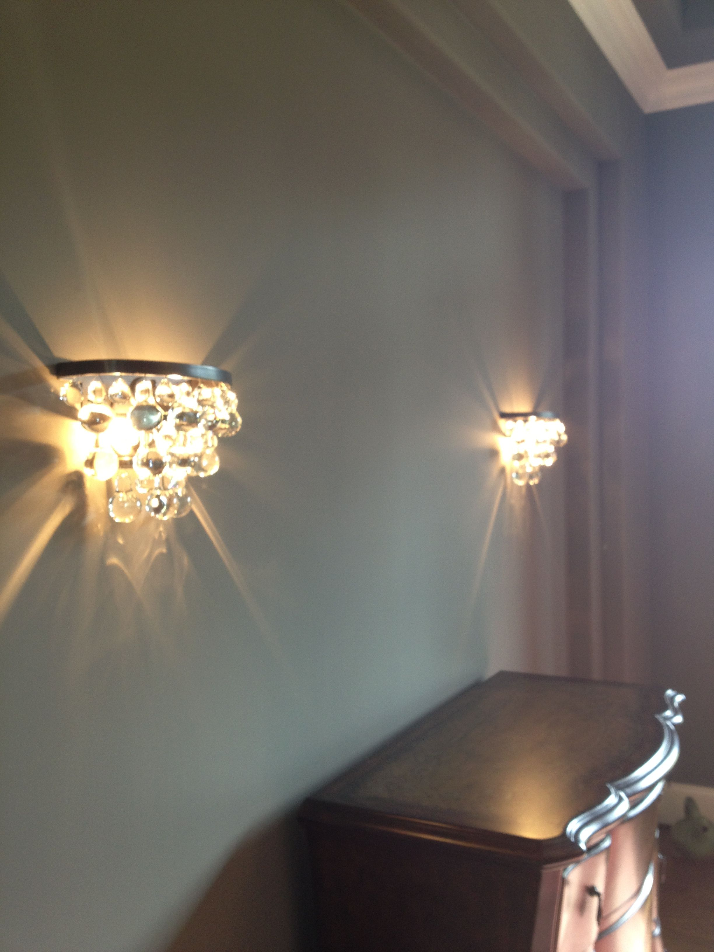 Robert Abbey Bling Sconces Chez Moi Pinterest