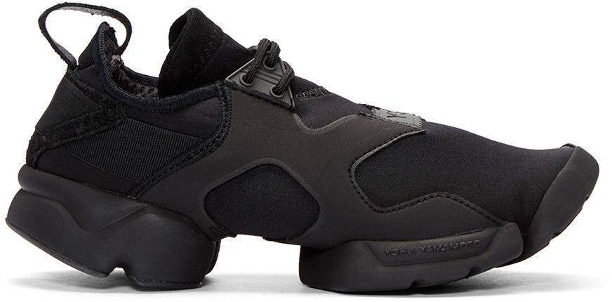9f68506c93665e Y-3 Black Khona Sneakers.  y-3  shoes  sneakers