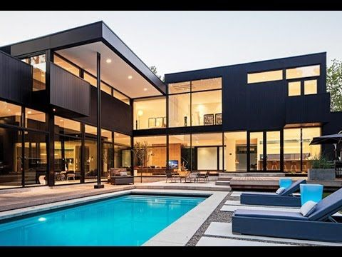 Delightful Most Beautiful Modern Glass Mansions Global