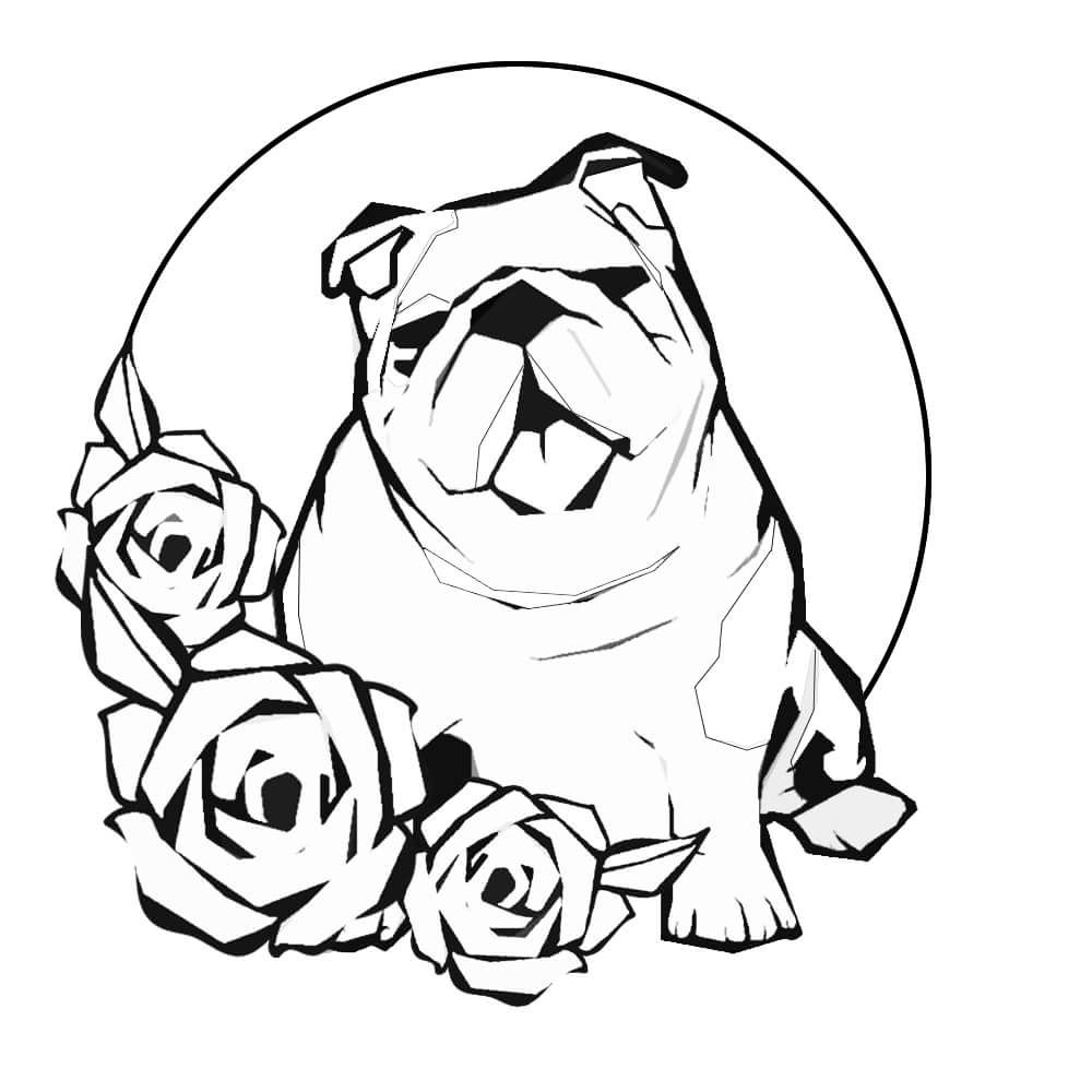 - Bulldog Coloring Pages Animal Coloring Pages, Puppy Coloring