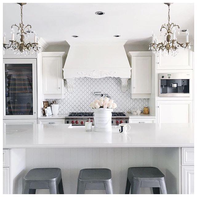 White Glam Kitchen Of Jillian Harris