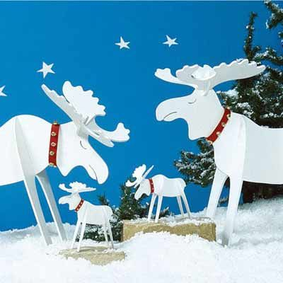Holiday Woodworking Plans for Fun Yard Decor Moose, Woodworking