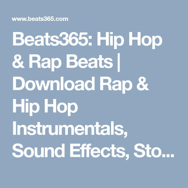 Beats365: Hip Hop & Rap Beats | Download Rap & Hip Hop Instrumentals