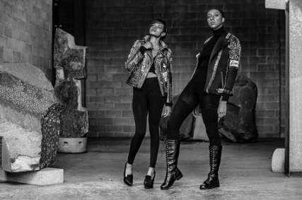 Trendy fashion edgy editorial makeup ideas