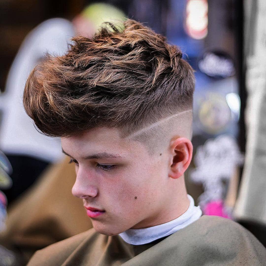 Modern 2019 Trendy Hair Styles For Men Faces Men Fashion Hairstyles Mens Haircuts Fade Haircuts For Men Cool Hairstyles For Men
