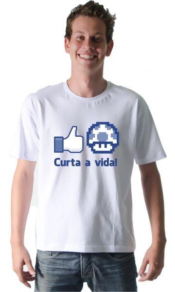 16d2949c05 Camiseta - Curta a vida - Reis Online Camisetas Personalizadas ...