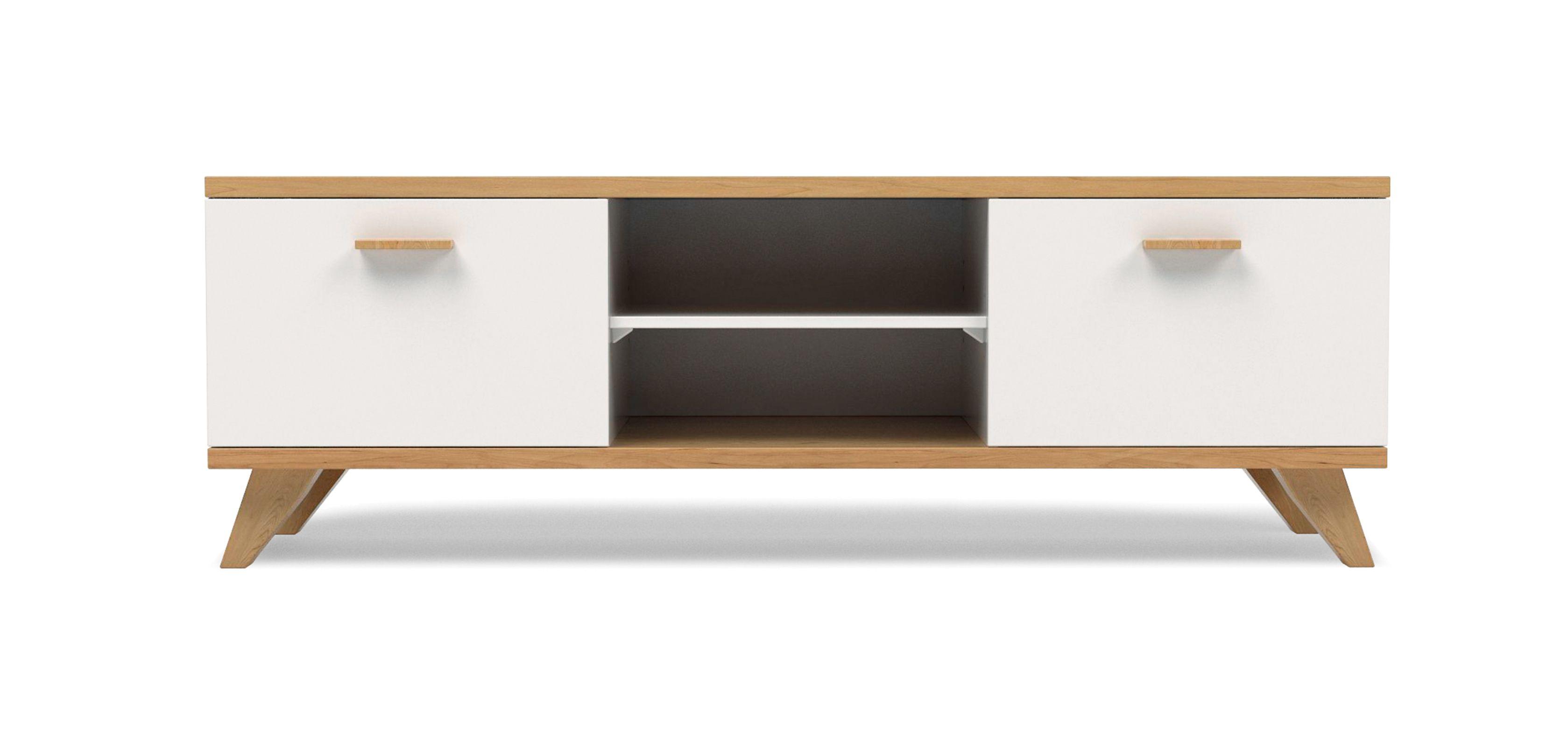 Meuble TV Style Scandinave Milow Bois idee meuble