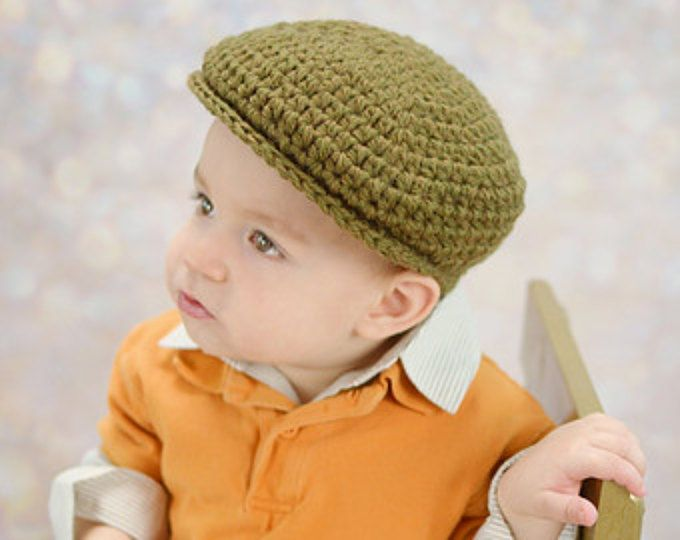 Men\'s Newsboy Cap, Newborn, Baby, Toddler, Child and Adult sizes ...