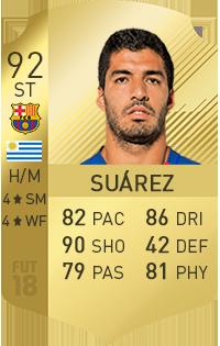 Luis Suárez in FIFA 18