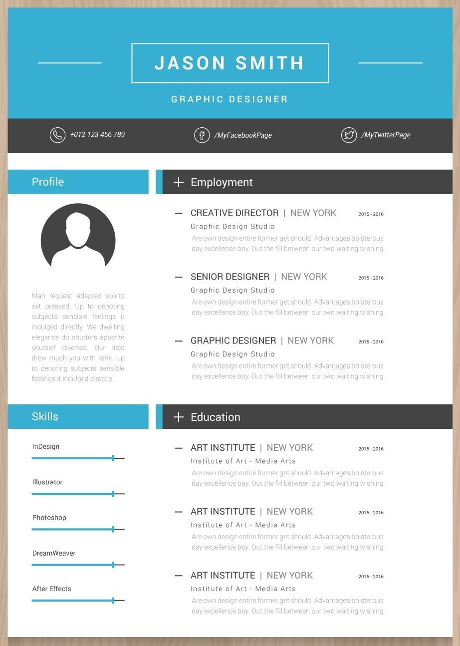 Pin by My Career Plans© on Resume Design template