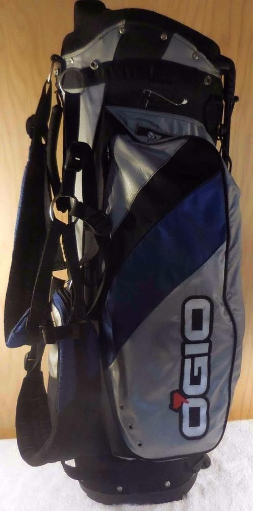 Ogio Blade Fully Divided Dual Strap Carry Stand Golf Bag Ebay