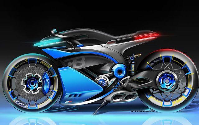 Ottonero Cafe Racer Bugatti Concept Bike Challenge Moto
