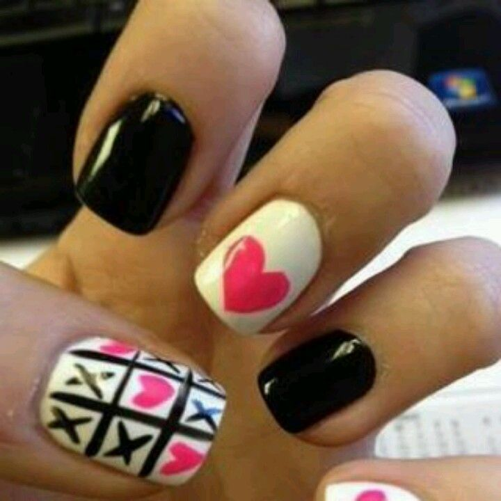 Tic tac toe :) | Extreme Nails | Pinterest | Tic tac toe and Simple ...