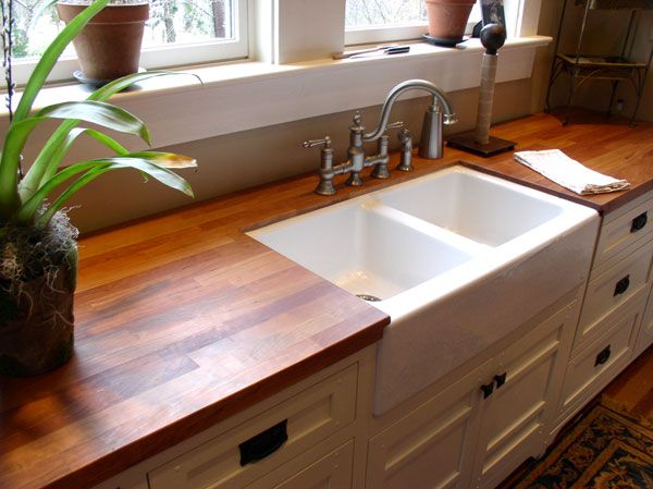 Double Bowl Kitchen Sink Remodel Software Beautiful Black Cherry Countertop By Cafe Countertops ...