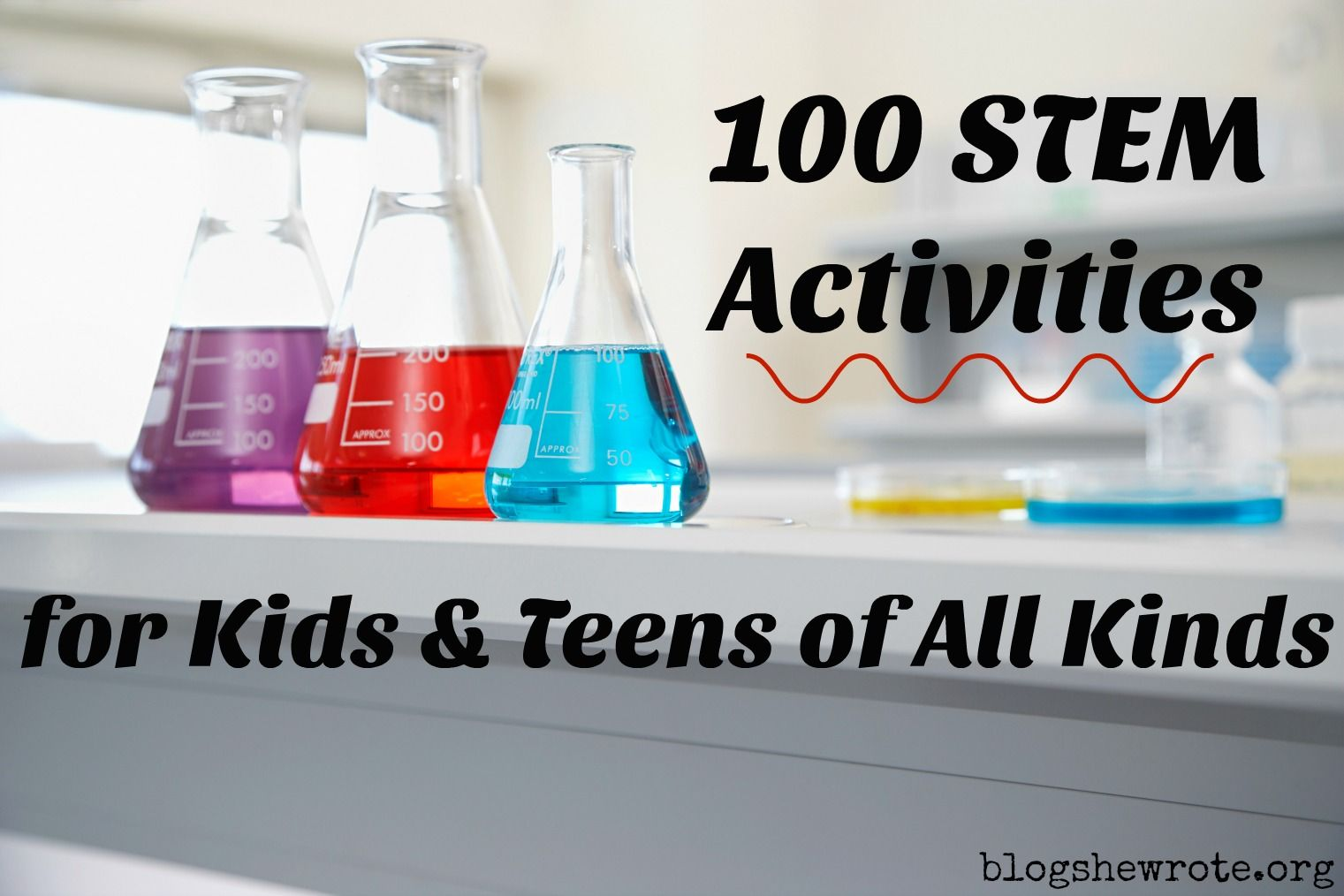 100 Stem Projects For Kids Amp Teens Of All Kinds