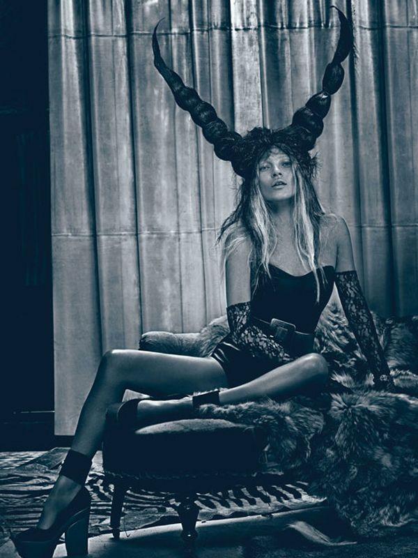 Kate Moss @ Steven Klein - W Magazine