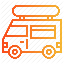 Fast Food Food Truck Icon Download On Iconfinder Truck Icon Chicken Icon Fast Food