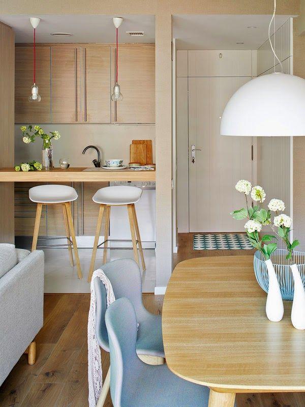 Pequeno apartamento decorado 70 m tons de azul estampas for Como decorar tu apartamento
