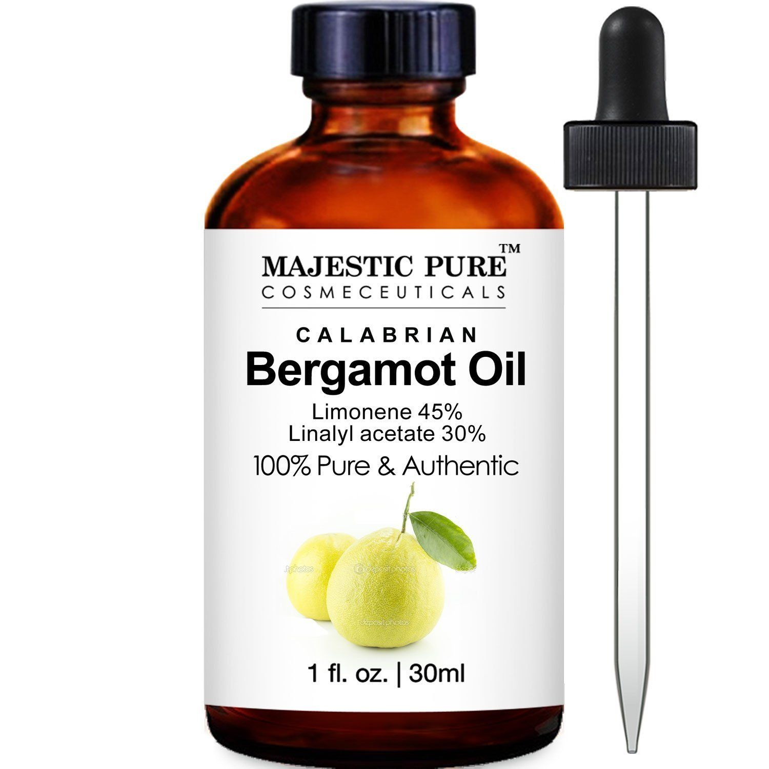 Majestic Bergamot Essential Oil, Premium Quality from Calabria, 1 Fluid Ounce >>> Read more  at the image link.