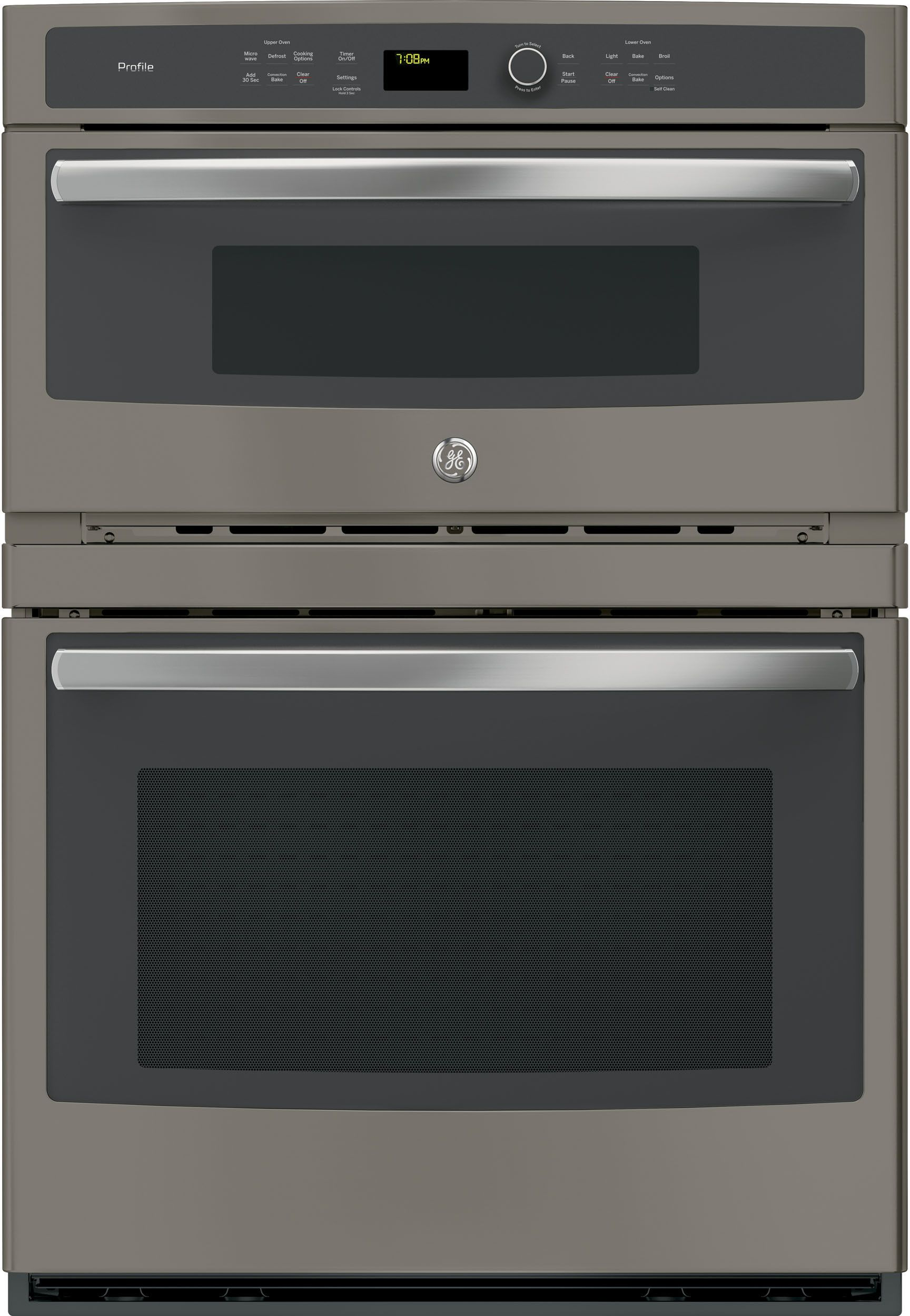 Ge Profile Pt7800ekes Wall Oven Single Wall Oven Microwave Oven
