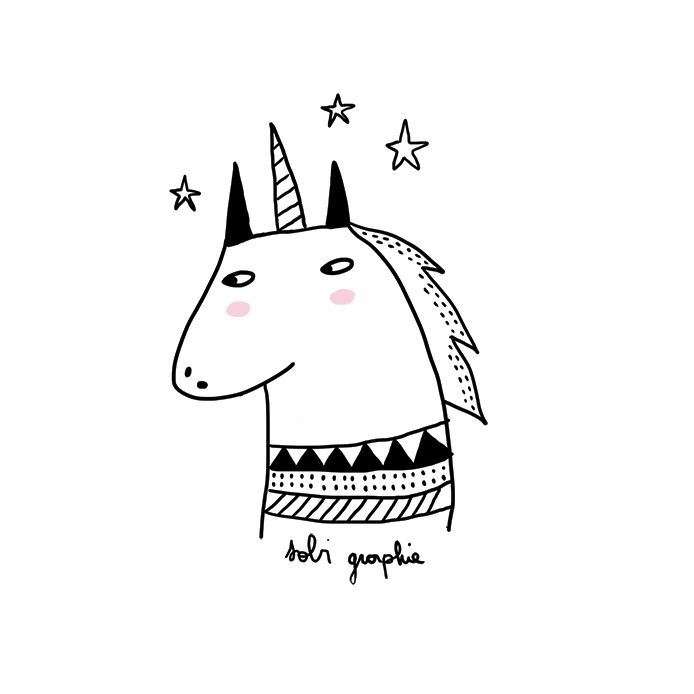 """Sometimes there are caring people asking me if this or that illustration found on a particular site is to me! And often this is not the case ! cats and unicorns with rosy cheeks are everywhere, but the secret to making """"Sobi Graphie"""" is that you must..."""
