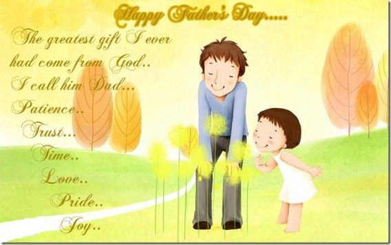 The greatest thing a FATHER can do to his children is to love