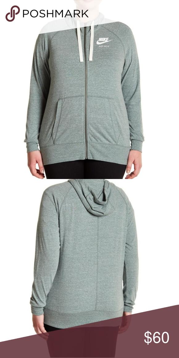 35adf9e2e73 Nike Women s Plus Size Vintage Hoodie Sweatshirt NEW WITH TAGS! Nike  Women s Plus Size Sportswear Gym Vintage Full-Zip Hoodie Sweatshirt Sizes –  2XL or 3XL ...