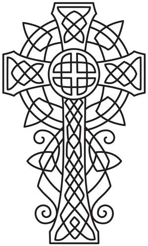 Celtic Majesty Cross | Urban Threads: Unique and Awesome Embroidery ...