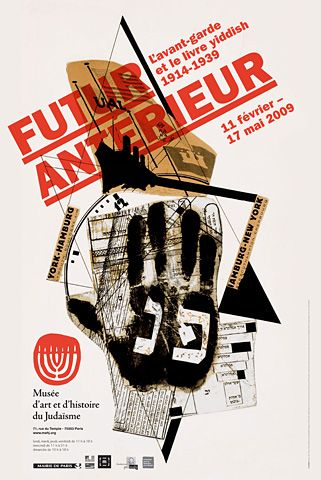Here's to Future Days affiche-futur-anterieur @Stephen McElhinney McElhinney Boss Futuristic #Typography