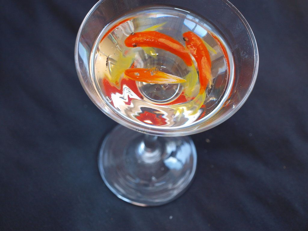 D Goldfish Art By Goldfishinspiration Live Without Breath - Incredible 3d goldfish drawings using resin