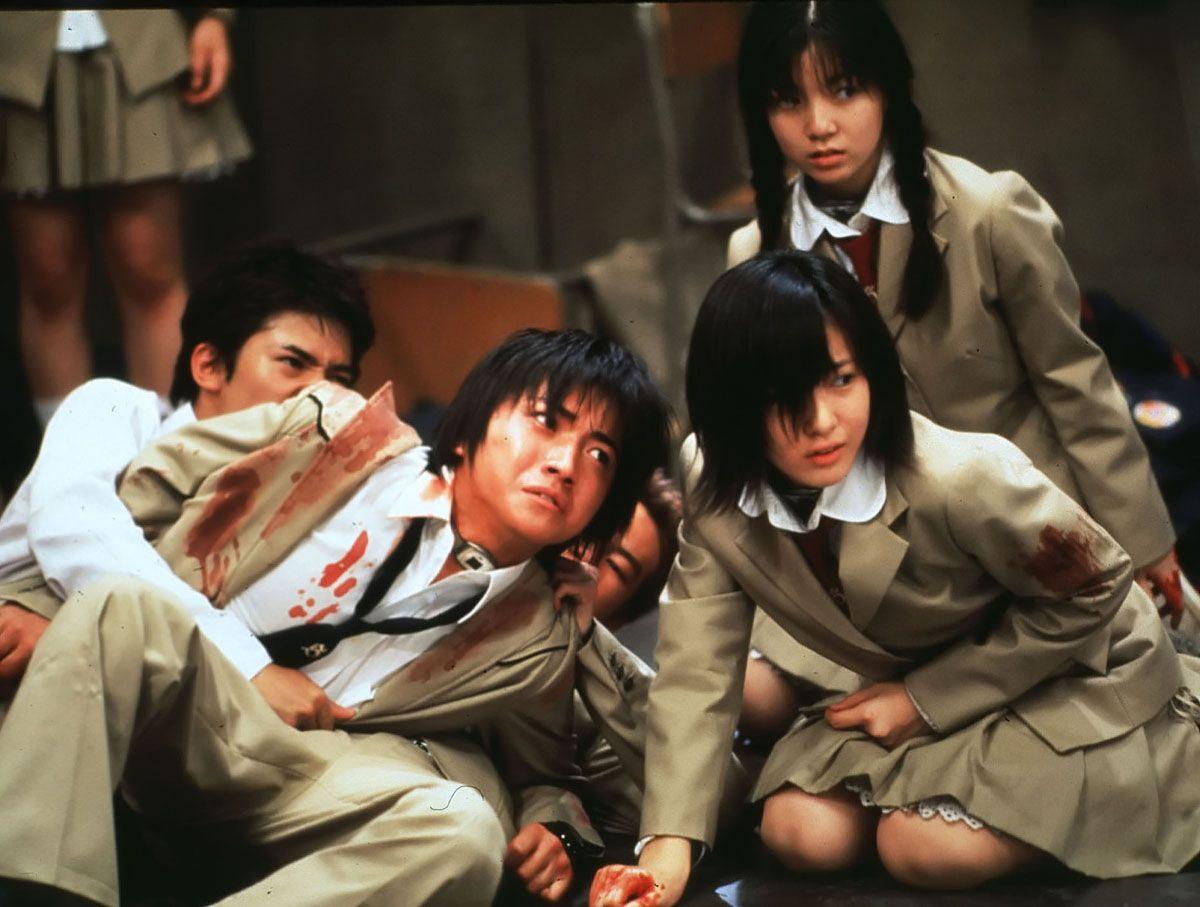 Battle royale japanese movie