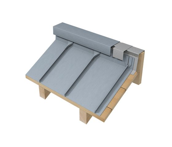 Roof Covering Double Standing Seam By Rheinzink Roofing Systems Metal Roof Installation Zinc Roof Roof Cladding