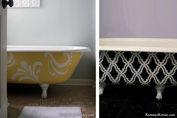 Appealing Painting A Clawfoot Tub Exterior Ideas - Best ...