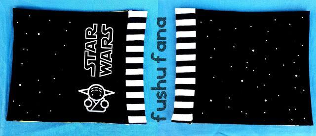 FushuFana: Cuello Star Wars - Yoda / Neckwarmer (Triangles, Ottobre design)