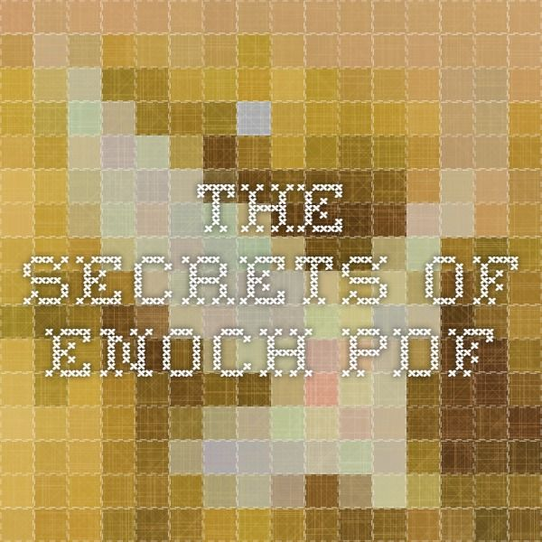 The Secrets of Enoch pdf