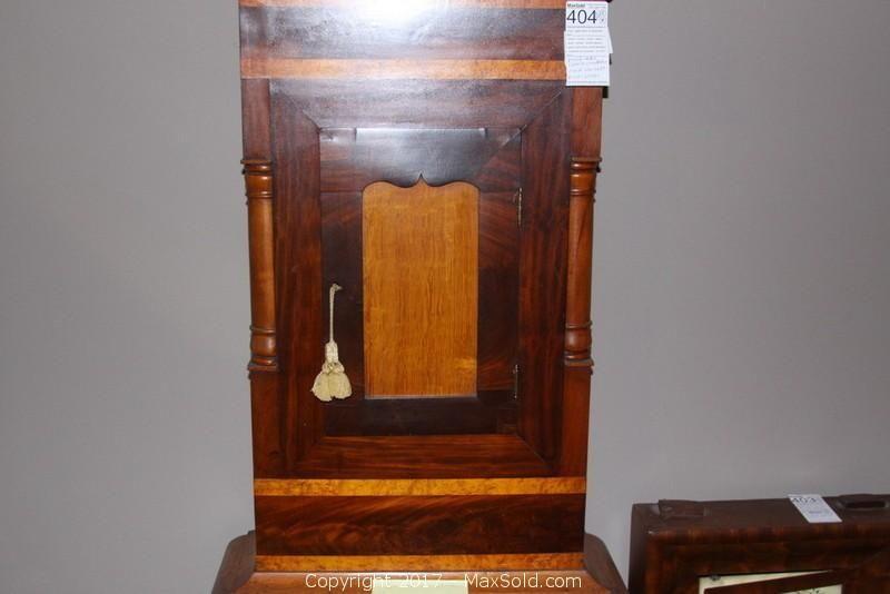 Maxsold Auction Fredericksburg Virginia Usa Estate Sale Online Auction Goldvein Drive Item Grandfather Clock And Pemb Grandfather Clock Clock Pembroke