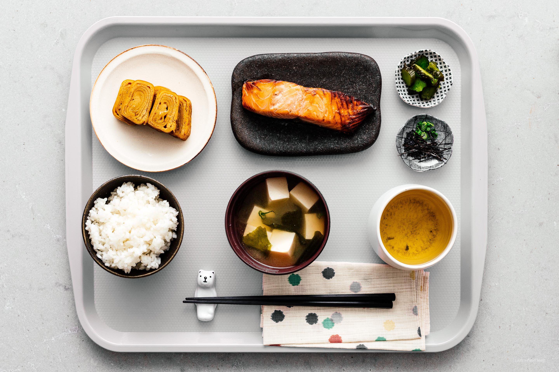 How to make a teishoku traditional japanese breakfast