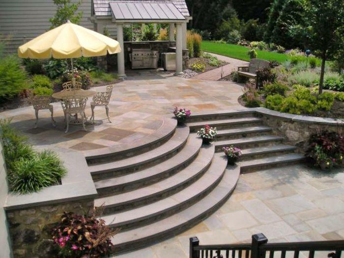 Dekoideen Terrasse dekoideen terrasse luxusvilla mit terrasse urlaubidee schöne