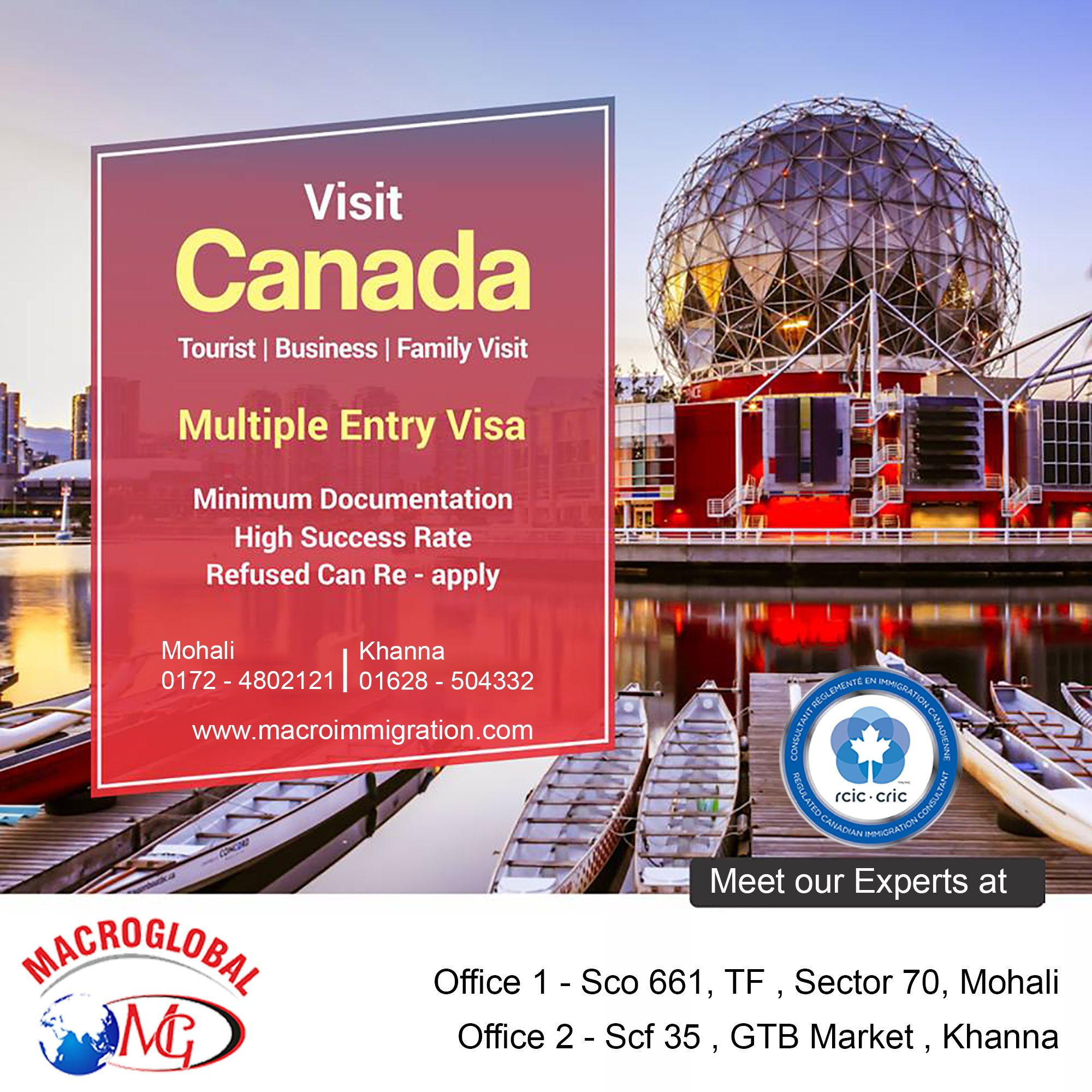 Canada ICCRC Express Entry Program Planning to get