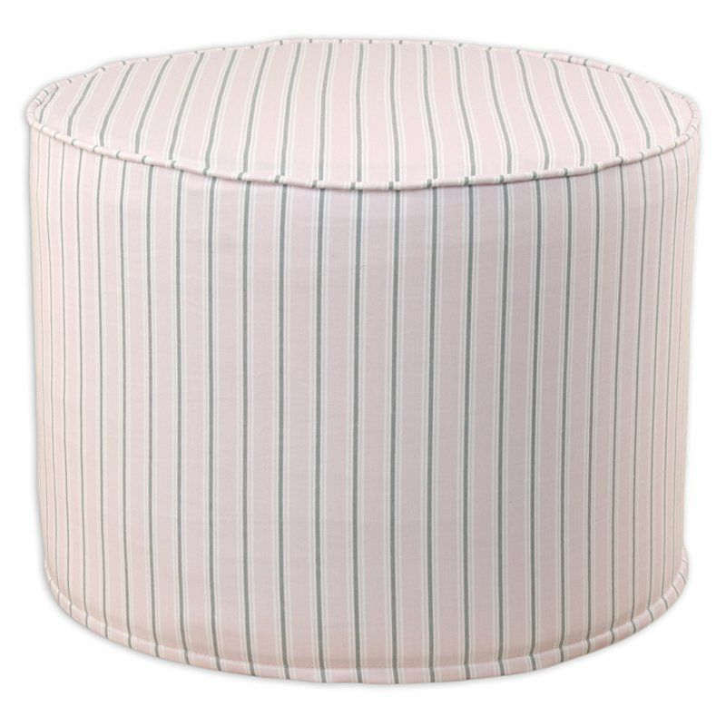 Brite Ideas Decorating Trey Bella Pouf Ottoman   BE20C3011