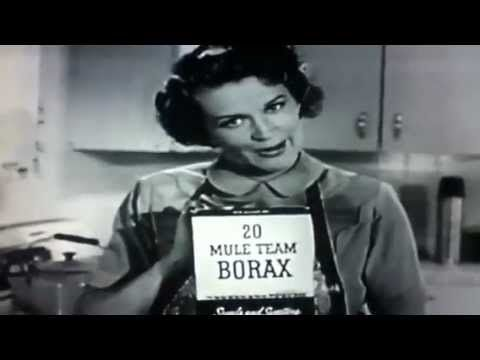 Pin by The Vintage Resource on Vintage Commercials: in 2020 | Tv commercials,  20 mule team borax, Classic tv