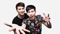 Dan and Phil Oakland 6/14/16 The Amazing Tour not on Fire !!! FRONT ROW !!!