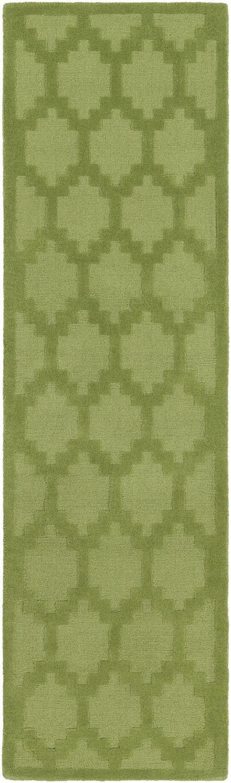 Metro AWMP-4007 Green Contemporary Premium Wool Rug
